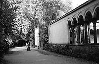 Potsdam, parco di Sanssouci. Chiesa della Pace --- Potsdam, Sanssouci Park. Church of Peace
