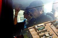 NAPOLI ARRIVO AL CARCERE DI POGGIOREALE DEL MANAGER DI FINMECCANICA PAOLO POZZESSERE.FOTO CIRO DE LUCA