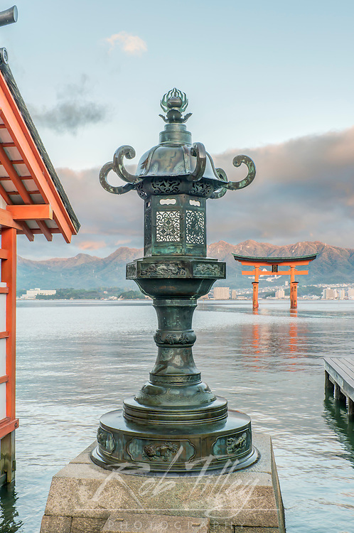 Japan, Miyajima, Itsukushima Shrine, Itsukushima Shrine