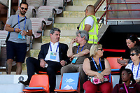 Former FA Executive, Adrian Bevington, who is now Head of Recruitment Operations at Middlesbrough FC was watching the match from the Main Stand during Mexico Under-21 vs England Under-21, Tournoi Maurice Revello Final Football at Stade Francis Turcan on 9th June 2018