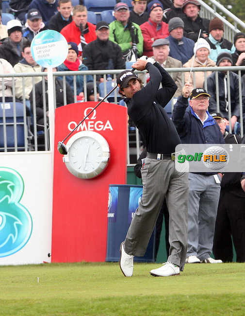 Gareth Maybin at the Irish Open in Co.Louth Golf Club,  Baltray...Photo NEWSFILE/Jenny Matthews.(Photo credit should read Jenny Matthews/NEWSFILE)....This Picture has been sent you under the condtions enclosed by:.Newsfile Ltd..The Studio,.Millmount Abbey,.Drogheda,.Co Meath..Ireland..Tel: +353(0)41-9871240.Fax: +353(0)41-9871260.GSM: +353(0)86-2500958.email: pictures@newsfile.ie.www.newsfile.ie.FTP: 193.120.102.198.