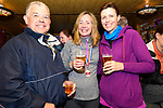 Michael Culloo, Rita Dowling (Tralee) and Michelle Culloo (Blennerville) relaxinf after the Dingle Way Challenge organized by St. Pat's GAA Club on Sunday.