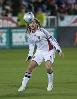 Salt Lake midfielder Kyle Beckerman. Real Salt Lake earned a tied versus the Colorado Rapids securing a place in the postseason. Dick's Sporting Goods Park, Denver, Colorado, October, 25, 2008. Photo by Trent Davol/isiphotos.com