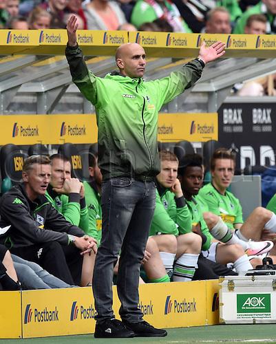 03.04.2016. Monchengladbach, Germany.  Bundesliga Football. Borussia Monchengladbach versus Hertha Berlin.   Trainer Andre Schubert (BMG)