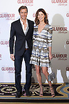 Jason Morgan and Hanneli Mustaparta attend 2016 Glamour Belleza Awards en Madrid, Spain. February 04, 2016. (ALTERPHOTOS/Victor Blanco)