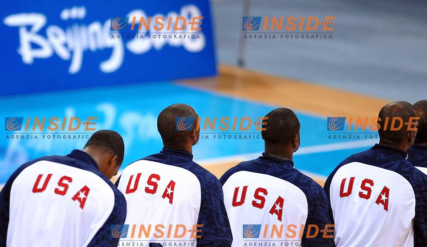 Basketball - Final Spain Usa 107 - 118.La nazionale Americana.Olympic Basketball Arena.Pechino - Beijing 24/8/2008 Olimpiadi 2008 Olympic Games.Foto Andrea Staccioli Insidefoto