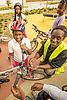 Bicycle maintenance workshop for children, London Borough of Haringey