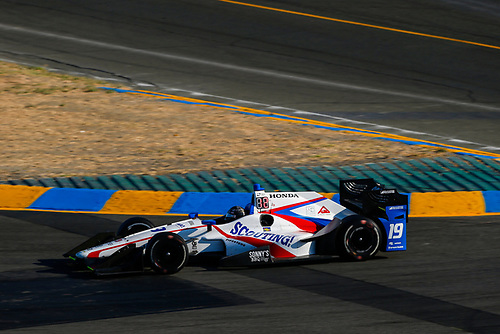 Verizon IndyCar Series<br /> GoPro Grand Prix of Sonoma<br /> Sonoma Raceway, Sonoma, CA USA<br /> Sunday 17 September 2017<br /> Ed Jones, Dale Coyne Racing Honda<br /> World Copyright: Jake Galstad<br /> LAT Images