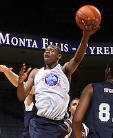 Deuce Bello at the NBPA Top100 camp June 17, 2010 at the John Paul Jones Arena in Charlottesville, VA. Visit www.nbpatop100.blogspot.com for more photos. (Photo © Andrew Shurtleff)