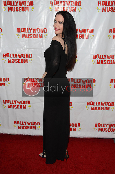 "Ivonna Cadaver at ""Child Stars - Then and Now"" Exhibit Opening at the Hollywood Museum in Hollywood, CA on August 19, 2016. (Photo by David Edwards)"