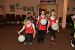 Tadhg Raybourne<br /> Paul grimes<br /> Robert mulligan<br /> <br /> at the GAA coaching in Collon NS<br /> Picture:  Fran Caffrey / www.newsfile.ie