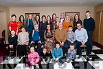 40th Birthday: Elaine Sharp, Listowel, seated centre front, celebrating her surprise 40th birthday with family & friends at the Listowel Arms Hotel on Saturday night last.