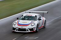Porsche GT3 Cup Challenge USA<br /> Grand Prix of Alabama<br /> Barber Motorsports Park, Birmingham, AL USA<br /> Sunday 23 April 2017<br /> 49, Sebastian Landy, GT3P, USA, 2017 Porsche 991<br /> World Copyright: Jake Galstad<br /> LAT Images<br /> ref: Digital Image galstad-BARBER-0417-40130