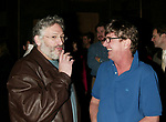 Harvey Fierstein and Gary Beach attending the Opening Night Gypsy Robe Ceremony for LA CAGE aux FOLLES at the Marquis Theatre in New York City.<br /> December 9, 2004