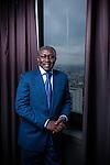 Amadou Diaw, fondateur de l'institut supérieur de management de Dakar pour le magazine Forbes Afrique.
