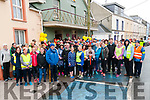 The Eamonn O'Connor Memorial Walk: The large crowd that took part in the Eamonn O'Connor Memorial walk in aid of Listowel Hospice pictured at St. Patrick's Hall, Listowel on Good Friday morning.