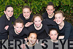 Currow dancers at Sco?r na bPa?isti in Currow Community Centre on Sunday l-r: Aisling Teahan, Niamh O'Connor. Back row: Amy Galwey, Fiona Nelligan-McGuire, Emer Horgan, Rowan Collier, Michaela Breen and Kerrie McCarthy