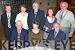 Having a great night out at the Causeway Ceoltas Dinner held in The Ballyroe Heights Hotel on Saturday night were seated l/r Seamus & Cathleen McEnery and John Lyons, standing l/r Anthony Griffin, Christina Neilan, John Canty, Mary Power and John Neilan.   Copyright Kerry's Eye 2008