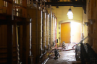 Fermentation tanks. Chateau Reignac, Bordeaux, France