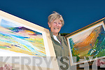 EXHIBITION: Joan Nicholson who will exhibit and sell a selection of her paintings at Dooks Golf Club on July 15th in aid of the Kerry Branch of the Hospice Foundation.