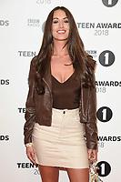 LONDON, UK. October 21, 2018: Celia Theodorou at tthe BBC Radio 1 Teen Awards 2018 at Wembley Stadium, London.<br /> Picture: Steve Vas/Featureflash