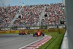 07.06.2019, Circuit Gilles Villeneuve, Montreal, FORMULA 1 GRAND PRIX DU CANADA, 07. - 09.06.2019<br /> , im Bild<br />Sebastian Vettel (GER#5), Scuderia Ferrari Mission Winnow, Charles Leclerc (MCO#16), Scuderia Ferrari Mission Winnow<br /> <br /> Foto © nordphoto / Bratic