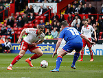 during the Sky Bet League One match at The Bramall Lane Stadium.  Photo credit should read: Simon Bellis/Sportimage