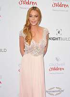 Lindsay Lohan at the Caudwell Children Butterfly Ball, Grosvenor House Hotel, Park Lane, London, England, UK, on Wednesday 22 June 2016.<br /> CAP/CAN<br /> &copy;CAN/Capital Pictures /MediaPunch ***NORTH AND SOUTH AMERICAS ONLY***