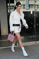 www.acepixs.com<br /> April 5, 2017 New York City<br /> <br /> Bella Hadid out and about in New York City on April 5, 2017.<br /> <br /> Credit: Kristin Callahan/ACE Pictures<br /> <br /> Tel: 646 769 0430<br /> Email: info@acepixs.com