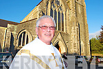 Canon Denis O'Mahony at his retirement mass of in St Stephens and Johns church Castleisland on Friday evening.   Copyright Kerry's Eye 2008