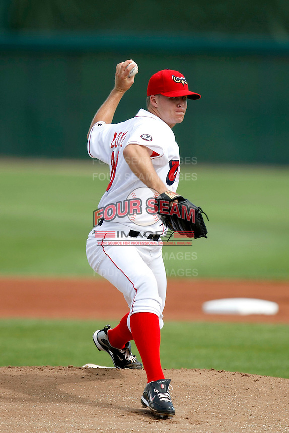 Stephen Locke of the Orem Owlz (2009 Pioneer League) playing against the Casper Ghosts in Orem, UT - 07/26/2009..Photo by:  Bill Mitchell/Four Seam Images..