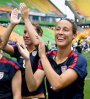Kate Markgraf. The USWNT defeated Canada, 1-0, at Suwon World Cup Stadium in Suwon, South Korea, to win the Peace Queen Cup.