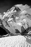 Godwin Austen Glacier and K2 (28,250 ft.), Karakoram Region, Pakistan