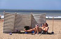 Belgien, Flandern, am Strand von Knokke