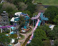 aerial photograph Busch Gardens, Tampa, Florida