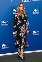 Actress Michelle Pfeiffer attends the photocall of the movie 'Mother!' during the 74th Venice Film Festival at Palazzo del Casino in Venice, Italy, on 05 September 2017.  - NO WIRE SERVICE - Photo: Hubert Boesl/dpa /MediaPunch ***FOR USA ONLY***