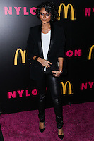 WEST HOLLYWOOD, CA - DECEMBER 05: Nazanin Mandi arriving at the Nylon Magazine December 2013/January 2014 Cover Launch Party held at Quixote Studios on December 5, 2013 in West Hollywood, California. (Photo by Xavier Collin/Celebrity Monitor)
