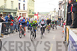 Action from the final stage of Ras Mumhan in Killorglin on Monday.