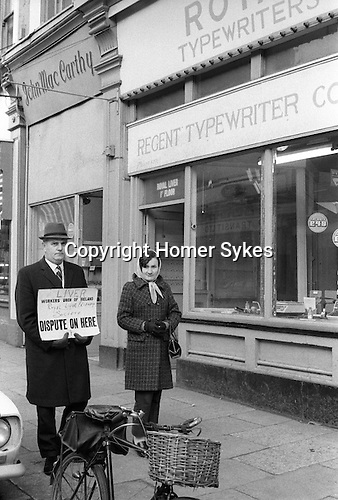 LIVER, Workers Union of Ireland, Royal Liver Friendly Society, DISPUTE ON HERE. 1972.  Killorglin Eire Southern Ireland.