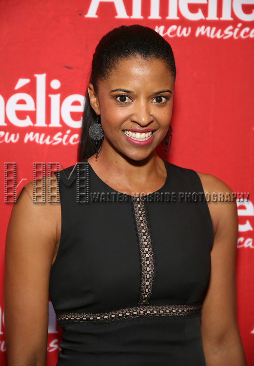 Renée Elise Goldsberry attends the Broadway Opening Night performance of 'Amelie' at the Walter Kerr Theatre on April 3, 2017 in New York City