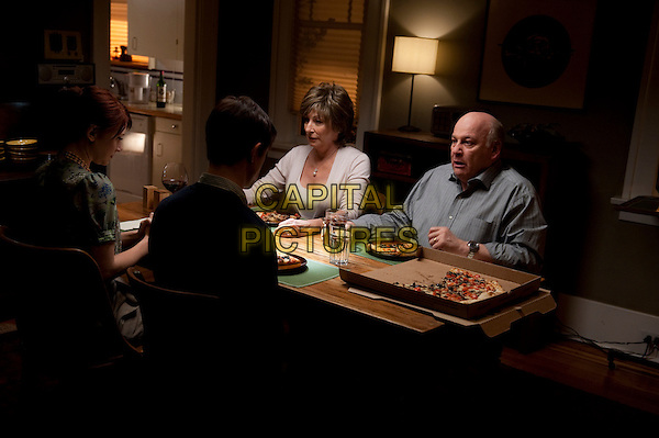 BRYCE DALLAS HOWARD, JOSEPH GORDON-LEVITT, ANJELICA HUSTON & SERGE HOUDE.in 50/50.*Filmstill - Editorial Use Only*.CAP/FB.Supplied by Capital Pictures.