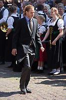 Mariage du Prince Ernst junior de Hanovre et de Ekaterina Malysheva &agrave; l'&eacute;glise Markkirche &agrave; Hanovre.<br /> Allemagne, Hanovre, 8 juillet 2017.<br /> Wedding of Prince Ernst Junior of Hanover and Ekaterina Malysheva at the Markkirche church in Hanover.<br /> Germany, Hanover, 8 july 2017<br /> Pic :  Prince Andrea Casiraghi