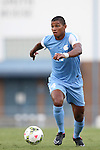 15 August 2014: North Carolina's Omar Holness (JAM). The University of North Carolina Tar Heels hosted the Gardner-Webb University Bulldogs at Fetzer Field in Chapel Hill, NC in a 2014 NCAA Division I Men's Soccer preseason match. North Carolina won the exhibition 7-0.