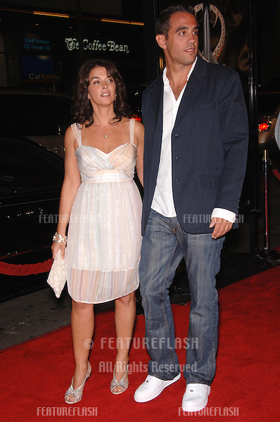 "Actress ANNABELLA SCIORRA & actor BOBBY CANNAVALE at the Los Angeles premiere of his new movie ""Snakes on a Plane"" at the Chinese Theatre, Hollywood..August 17, 2006  Los Angeles, CA.© 2006 Paul Smith / Featureflash"