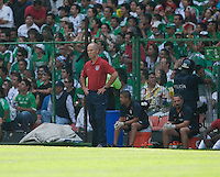 Bob Bradley. USA Men's National Team loses to Mexico 2-1, August 12, 2009 at Estadio Azteca, Mexico City, Mexico. .   .