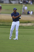 Jhonattan Vegas (VEN) plays his 2nd shot on the 8th hole during Friday's Round 2 of the 118th U.S. Open Championship 2018, held at Shinnecock Hills Club, Southampton, New Jersey, USA. 15th June 2018.<br /> Picture: Eoin Clarke | Golffile<br /> <br /> <br /> All photos usage must carry mandatory copyright credit (&copy; Golffile | Eoin Clarke)