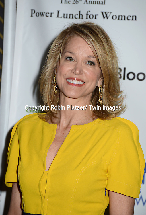 Paula Zahn  attends the 26th Annual Citymeals-on-Wheels Power Lunch for Women on November 16, 2012 at The Plaza Hotel in New York City. The honorees were Paula Zahn and Randi and Dennis Riese.