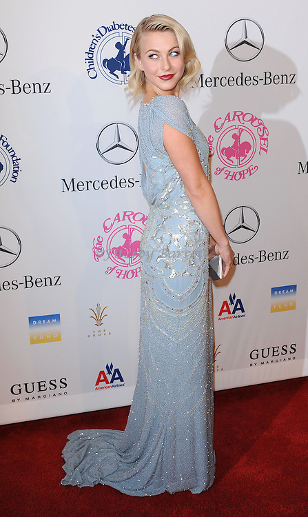 Julianne Hough at The 26th Carousel of Hope Gala held at The Beverly Hilton Hotel, Beverly Hills  CA. October 20, 2012.