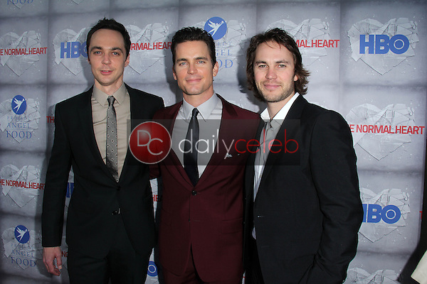 Jim Parsons, Matt Bomer, Taylor Kitsch<br />