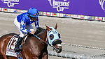 November 2, 2019 : Mo Forza, ridden by Joel Rosario, wins the Qatar Twilight Derby (Grade II) on Breeders' Cup Championship Saturday at Santa Anita Park in Arcadia, California on November 2, 2019. Chris Crestik/Eclipse Sportswire/Breeders' Cup/CSM